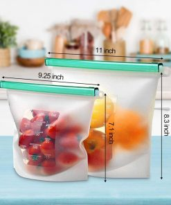 Silicone Bags dimensions